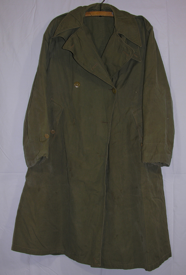 US Army Officers Field Overcoat