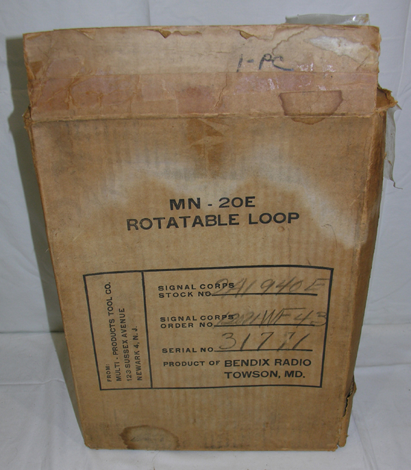 Cardboard box for MN-20E Rotatable Loop