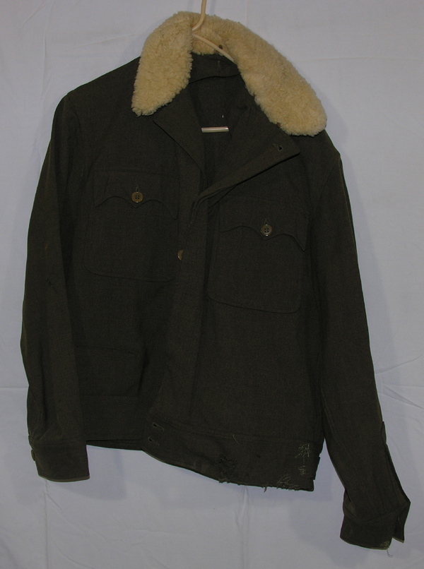 RARE USAAF F-2 Enlisted Heated Jacket with Fur Collar