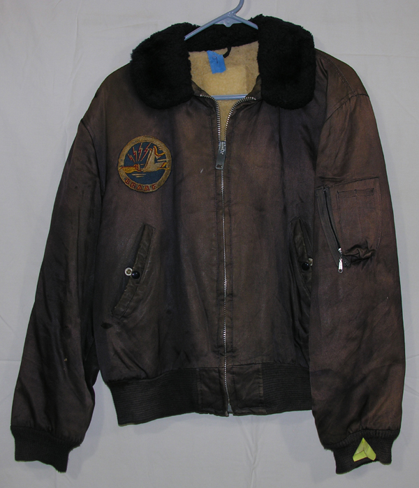 Cloth B-15 Style Flight Jacket w/ patch