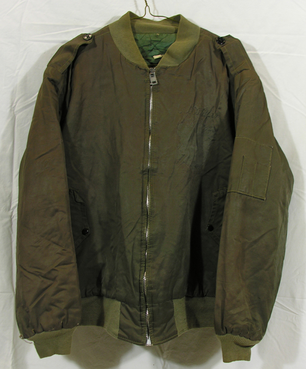 US Army Cloth Jacket with embroidery on rear