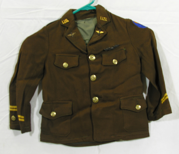 USAAF Child's Officers Dress Tunic with insignia