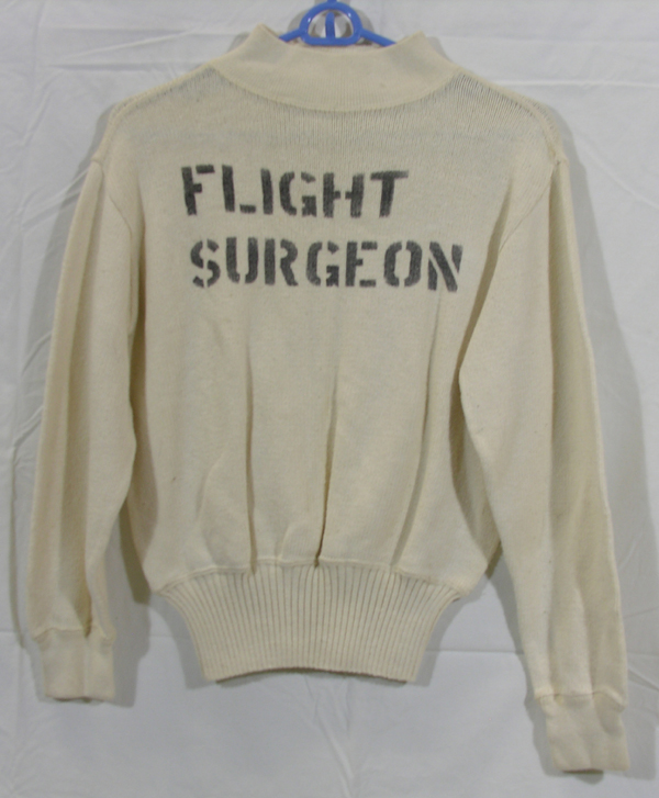 Flight Surgeon White Sweater