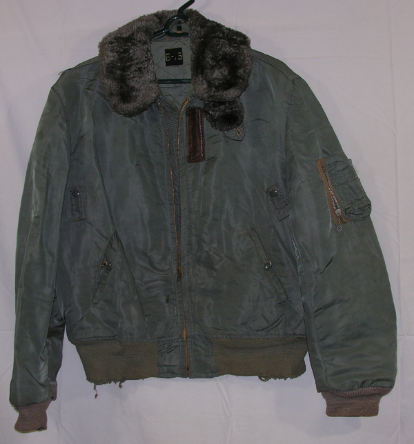 USAF B-15B/C Style Cloth Flight Jacket