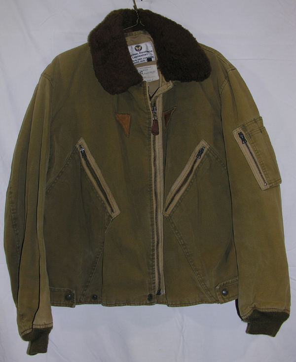 USAF B-15 Style Cloth Flight Jacket