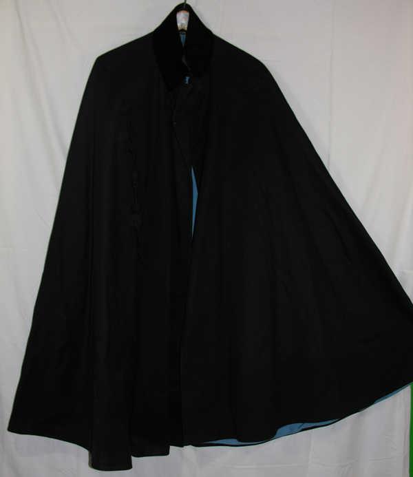 Blue Dress Cape