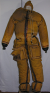 US Navy R-1 Anti-Exposure Suit with gloves