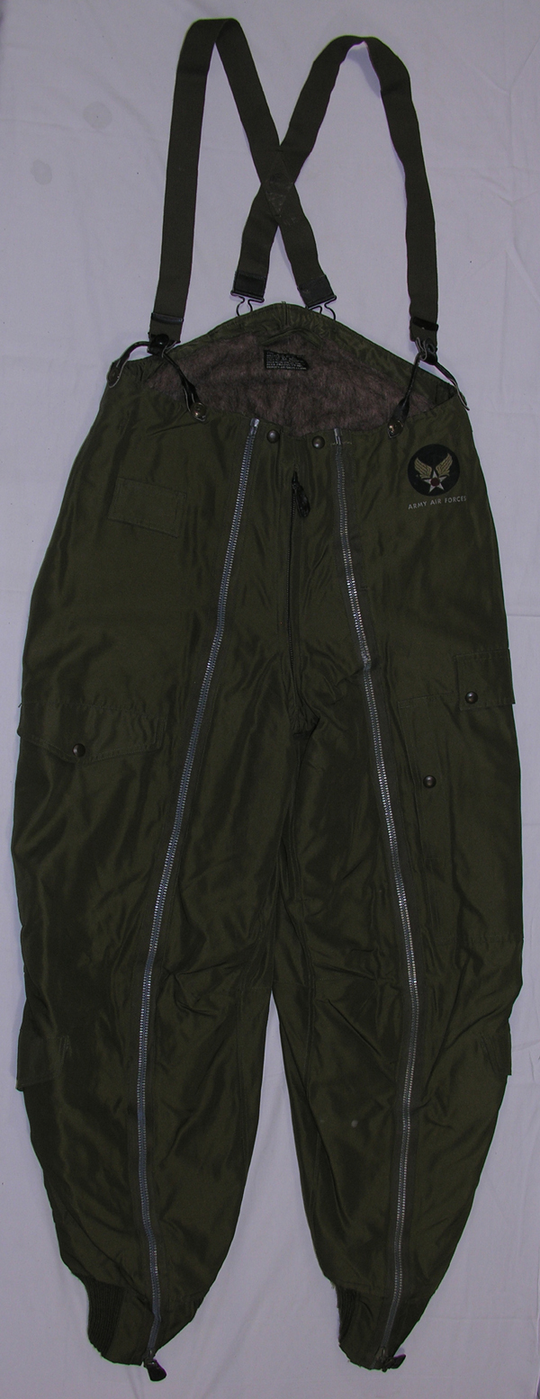 USAAF A-11 Flight Trousers w/ suspenders