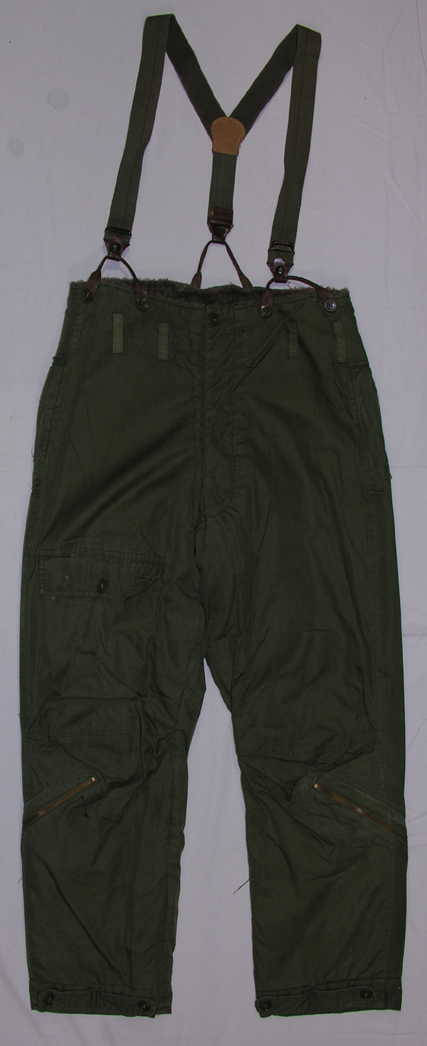 USAAF B-10 Flight Trousers w/ suspenders