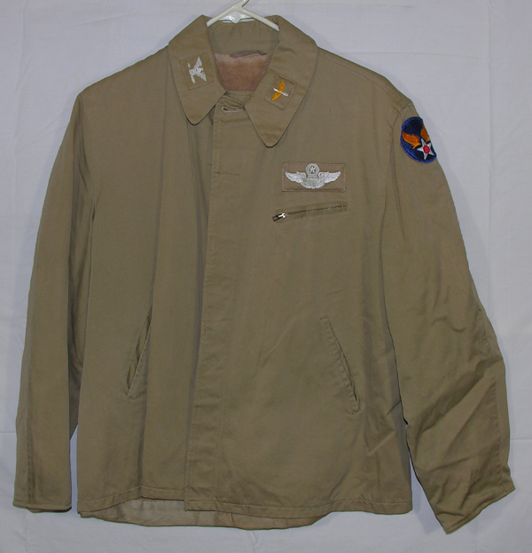 USAAF Private Purchase Khaki Jacket with Theater Made Insignia