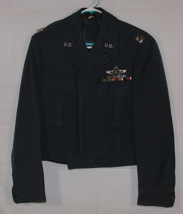 USAF Auxiliary Civil Air Patrol Blue Ike Jacket w/ insignia