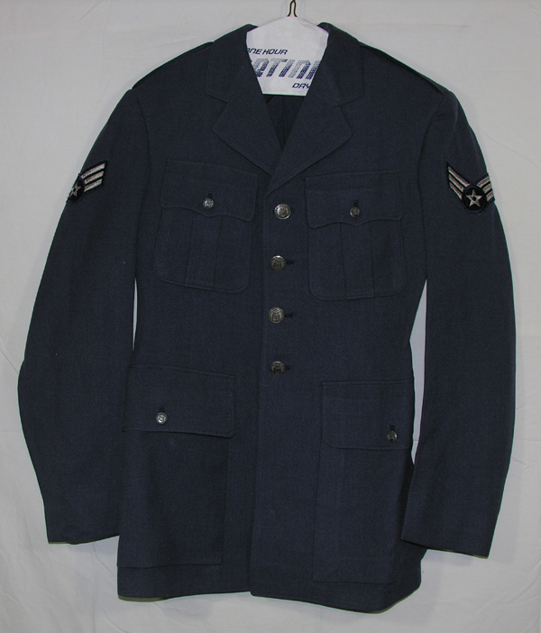 USAF Enlisted Blue Dress Tunic