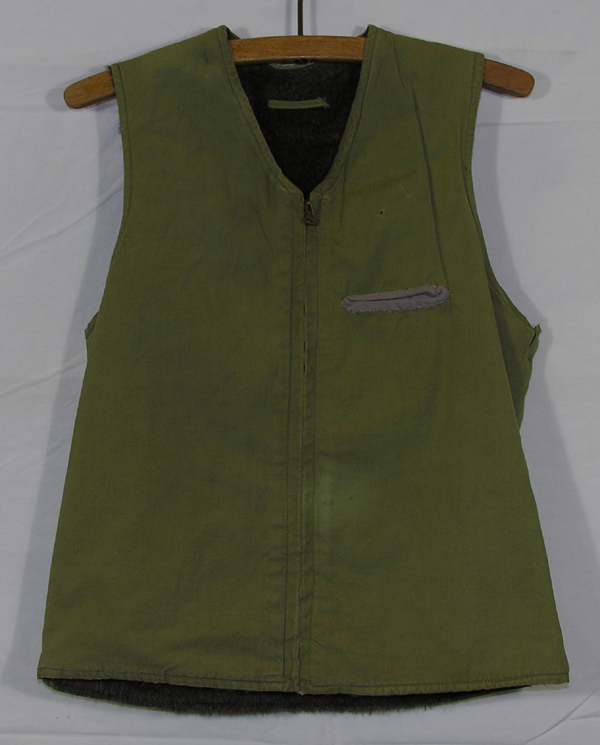 Cloth Fur Lined Vest