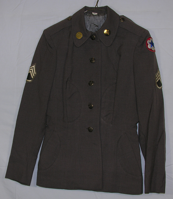 US Army Female Dress Jacket Skirt and Cap with insignia