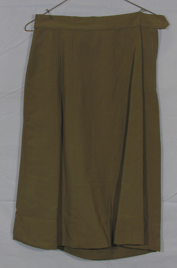 US Army Khaki Female Dress Skirt