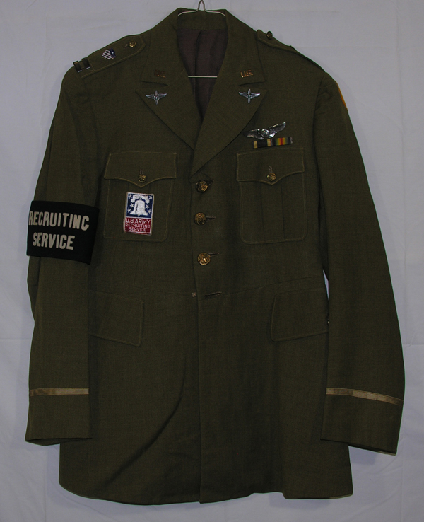 USAAF Recruiter Dress Tunic w/ insignia