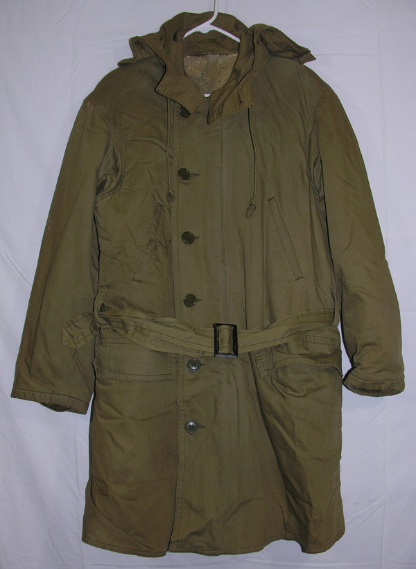 Cloth Cold Weather Parka with hood