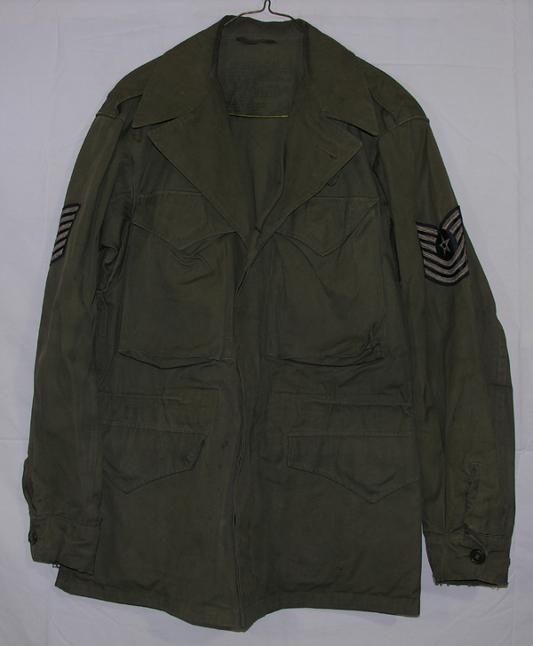 M-1943 Field Jacket with USAF patches