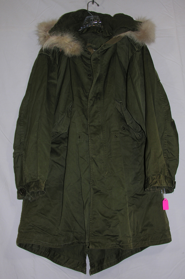 M-1949 Parka with wolf fur hood