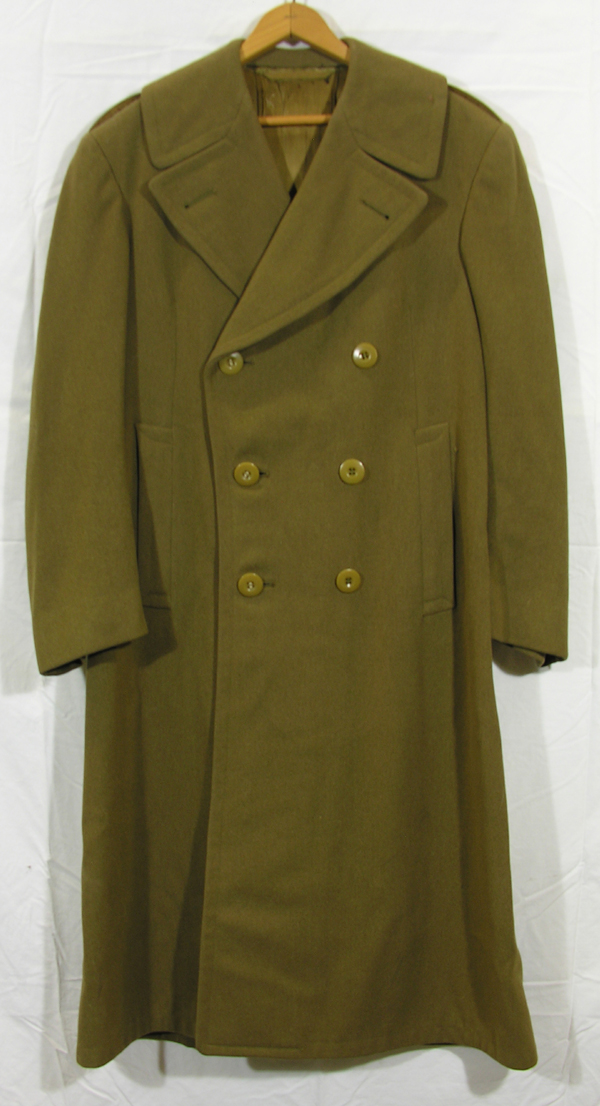 US Army Officers Overcoat