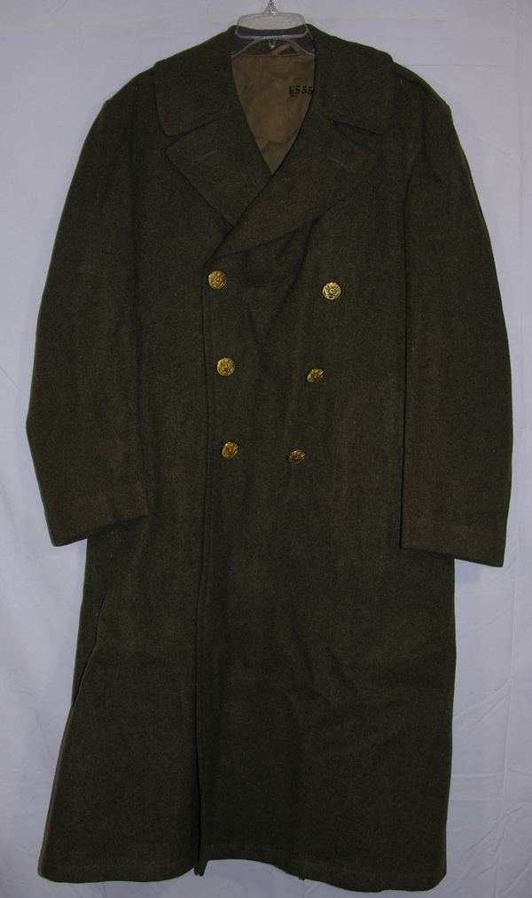 US Army Enlisted Overcoat