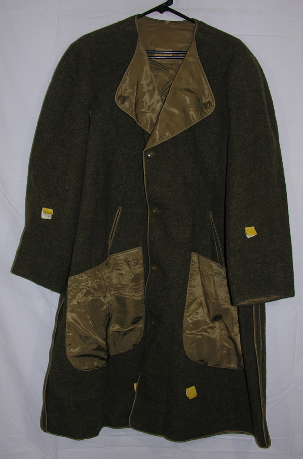 US Army Officers Field Overcoat Liner