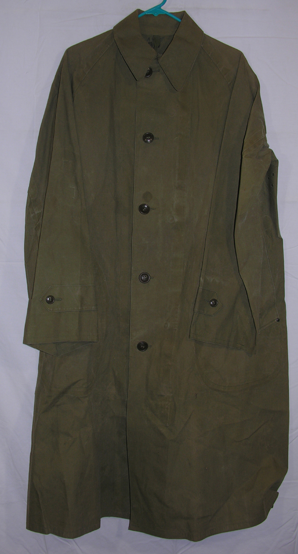 US Army Rubberized Overcoat