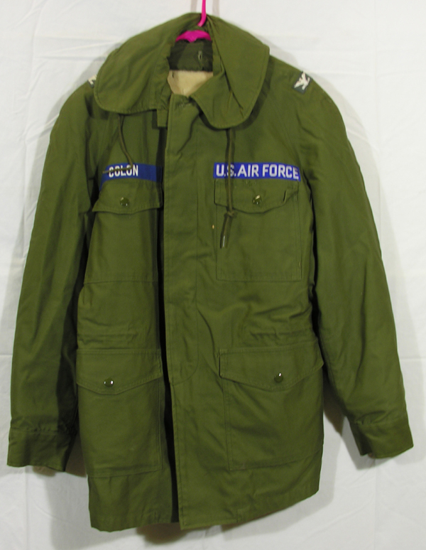 USAF Field Jacket with insignia and liner