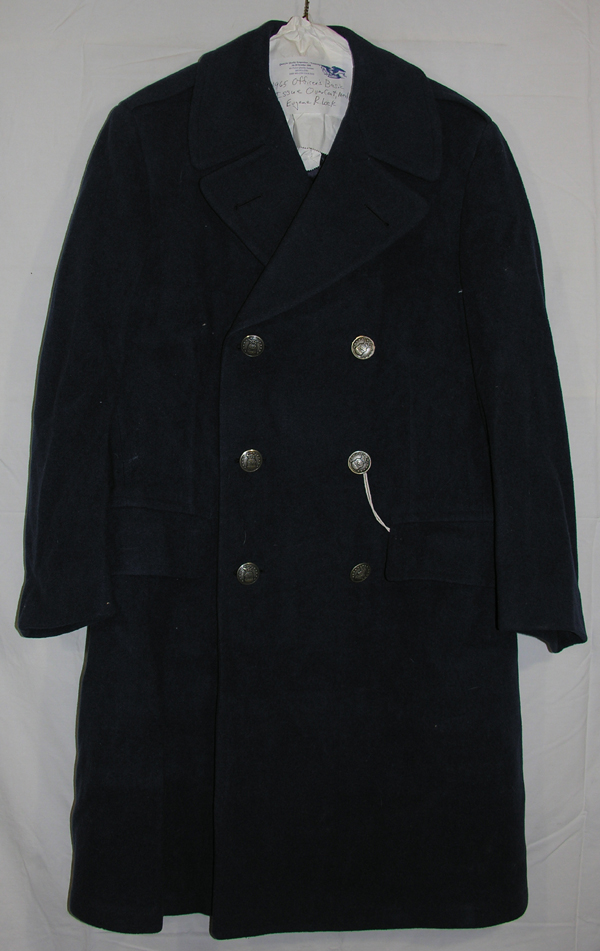 USAF Blue Officers Overcoat