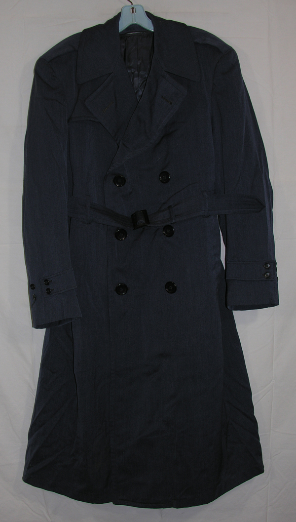 USAF Officers Blue Overcoat