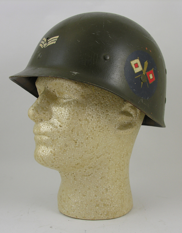 US Army Air Force Painted M-1 Helmet Liner