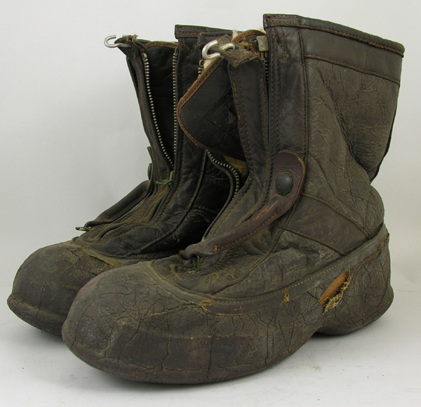 US Navy M-380 Leather Flight Boots