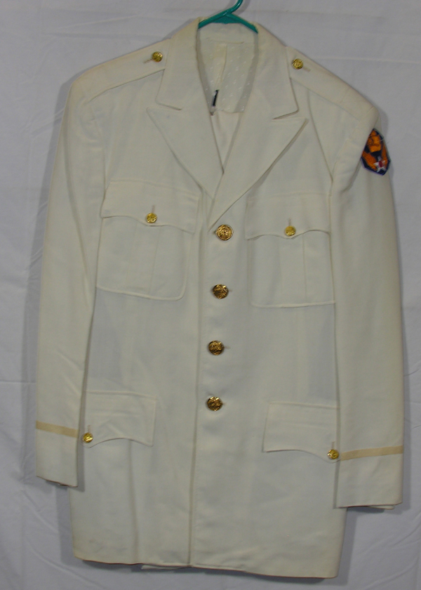 USAAF Palm Beach White Summer Dress Tunic and Trousers