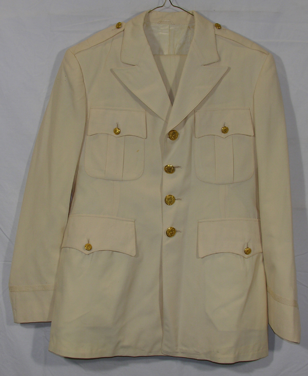 USAAF Palm Beach White Summer Dress Tunic with Trousers and Belt