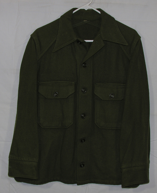 Green Wool Shirt