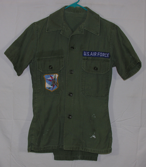 USAF Green Cotton Shirt and Trousers