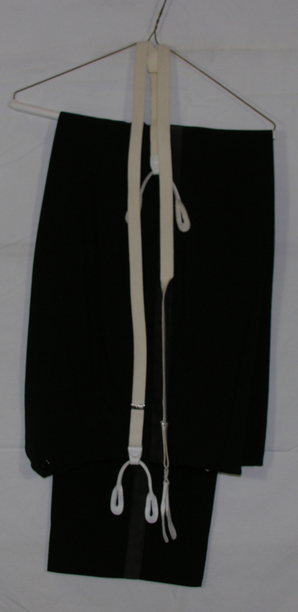 USAF Mess Dress Trousers with Suspenders