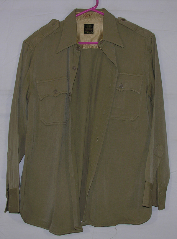 US Army Officers Khaki Shirt