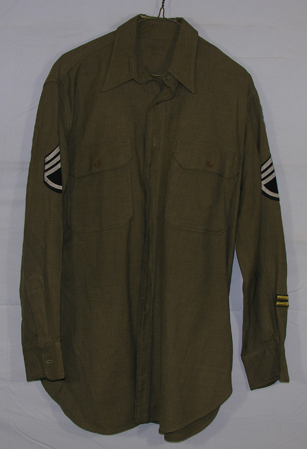USAAF Enlisted Shirt with Patch