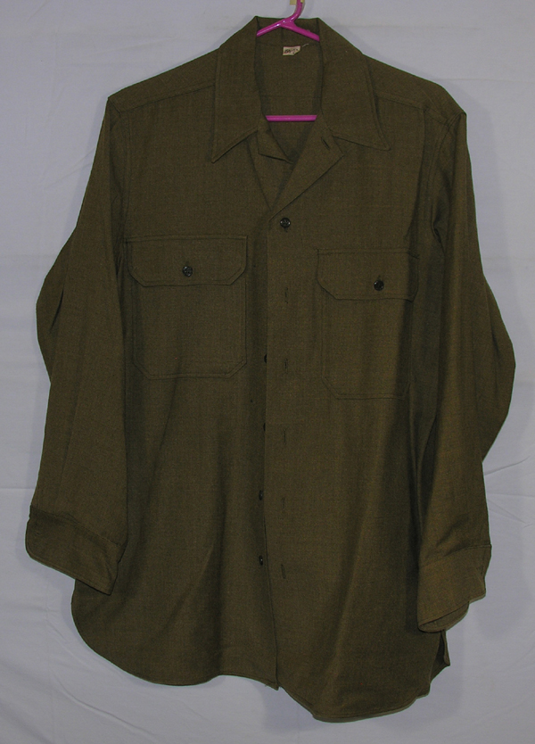 USAAF Enlisted Shirt with Gas Flap
