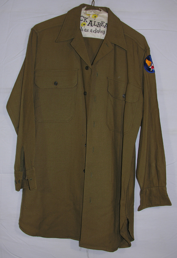 USAAF Officers Shirt with patch