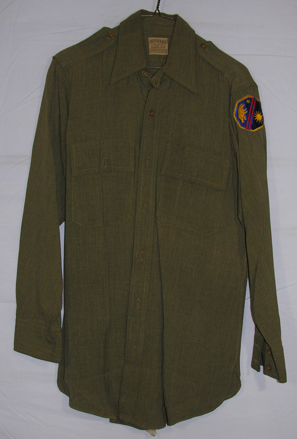 US Army Officers Shirt with Patch