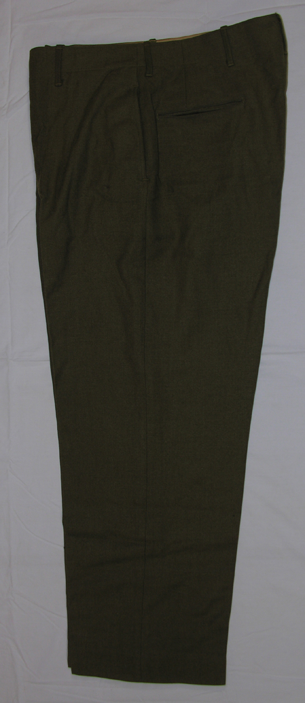 US Army Enlisted Trousers with button front