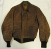 USAAF A-2 Leather Flight Jacket with nametag