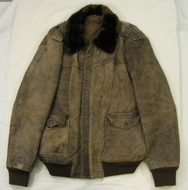 US Navy G-1 Style Leather Flight Jacket