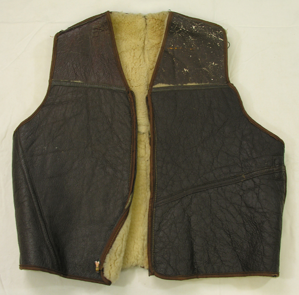 Shearling Leather Vest
