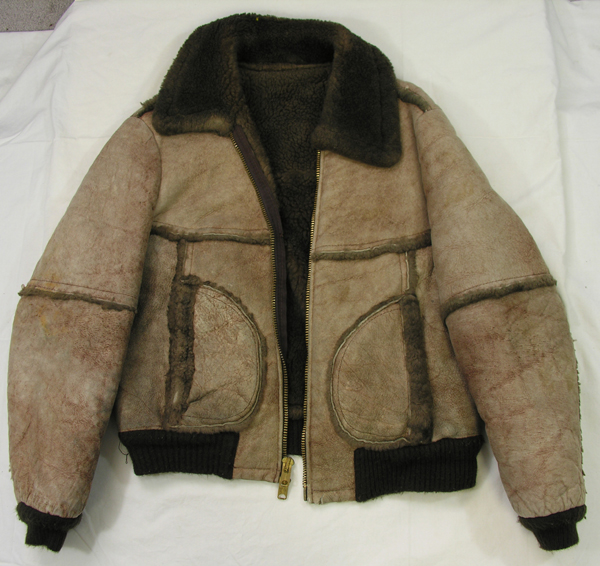Commercial Shearling Leather Flight Jacket