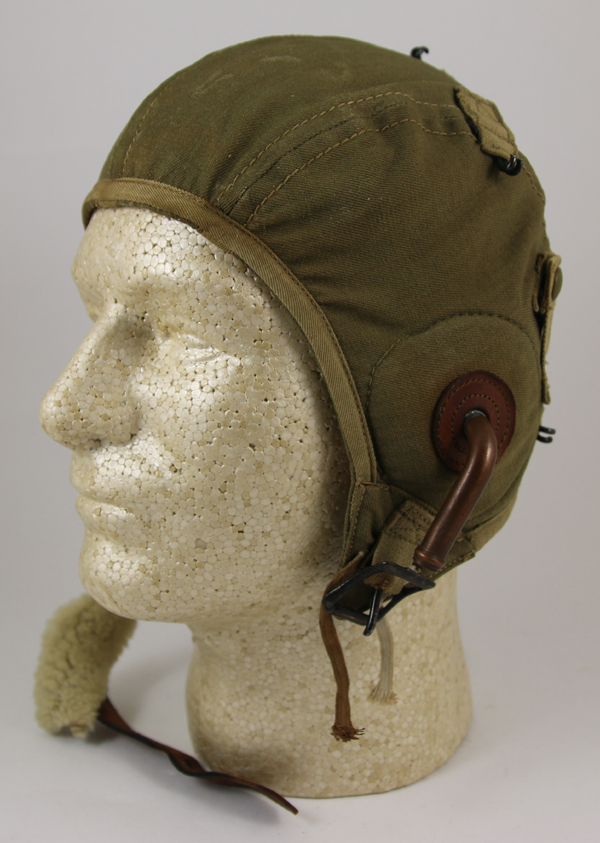 US Army Air Force A-9 Flight Helmet with Gosports