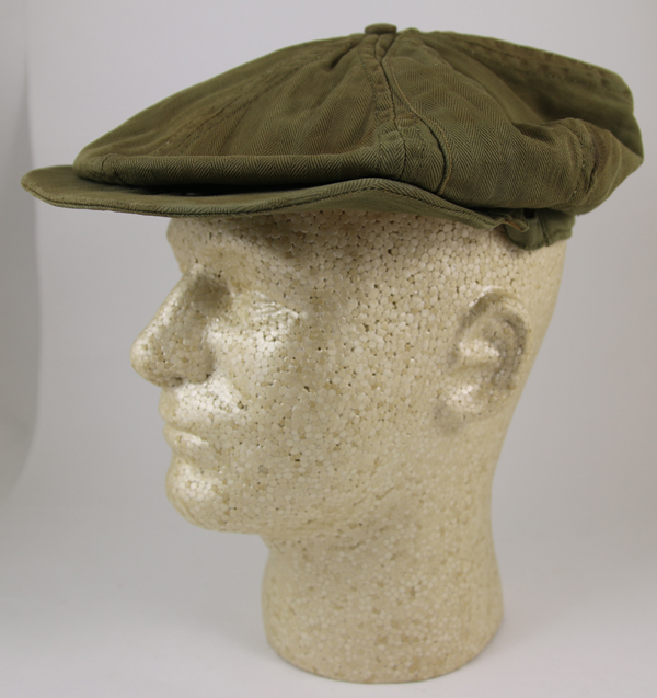 RARE US Army Air Corps A-2 Mechanics Cap