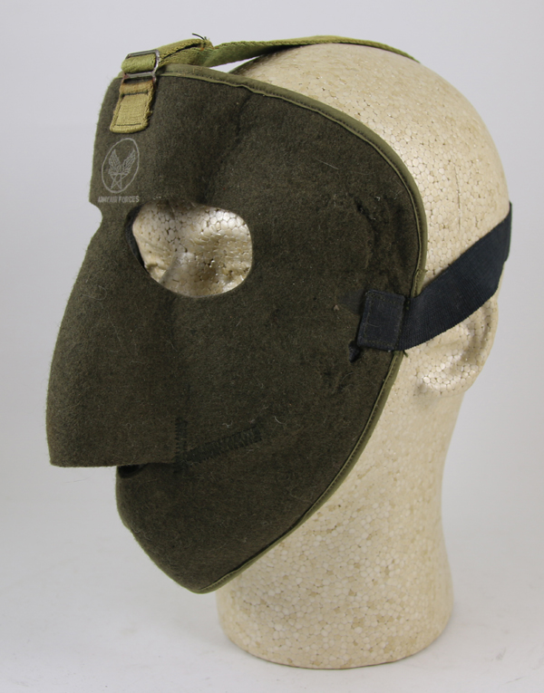 US Army Air Force D-1 Wool Facemask